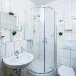 Badezimmer im Landhotel Lembergblick in Feilbertingen