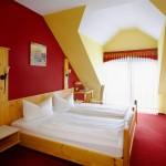 Gemütliches Doppelzimmer Hotel Lembergblick an der Nahe in Feilbingert